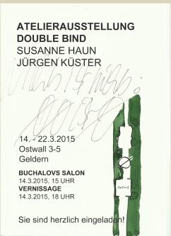 Einladungskarte DB Haun Küster
