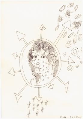 #7.4Das Jahr Null 26.11.2015 (c) Zeichnung von Susanne Haun (2)