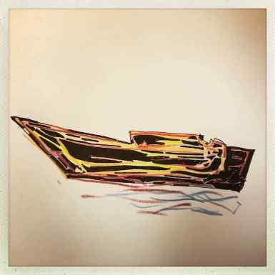 das Boot des O.